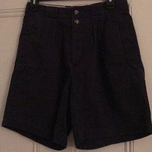 Tommy Hilfiger Cotton Shorts Size 29 Navy